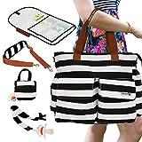 Best Diaper Bags For Moms - Valandres Premium Diaper Bag Bundle - 6 Accessories Review