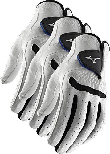 Mizuno 3 NEW Comp Mens Golf Gloves Size Extra-Large Cadet Left Hand XL 2017