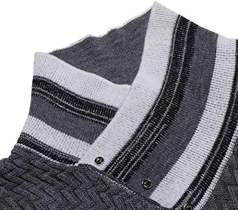 Binggong męska koszulka, jesień i zimowy sweter ładnych chłopcÓw mężczyźni swetry nowe długie rękawy szyte guziki długi rękaw dzierganie zabawny zabieg sportowy, mod