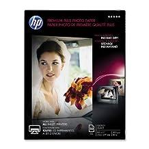 """HP Premier Plus Photo Paper -For Inkjet Print -Letter -8.50""""x11"""" -300 g/m -Glossy -1/Pack -White"""