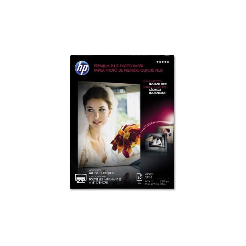 HP Premium Plus Photo Paper, Glossy, A,