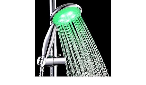 TianranRT hogar Cuarto de baño LED Ducha Agua brasas Luz: Amazon.es: Bricolaje y herramientas
