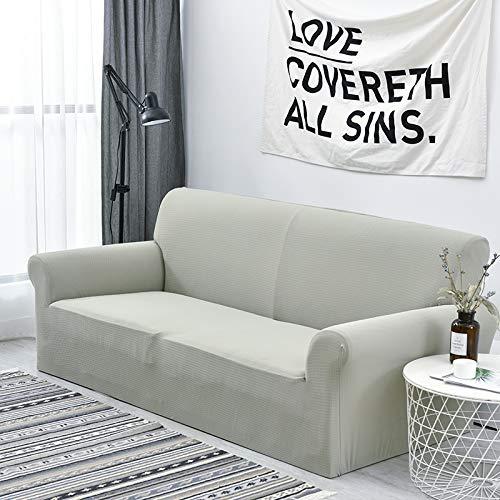 Amazon.com: Fundas de sofá de microfibra elásticas y ...