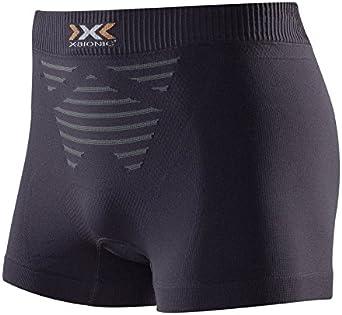 X-Bionic Invent Opal Black//Artic White S Boxer Shorts Uomo
