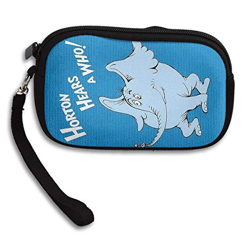 (Coin Purse Horton Hears A Who Zipper Wallet Mini Wristlet Cash Phone Holder Change)