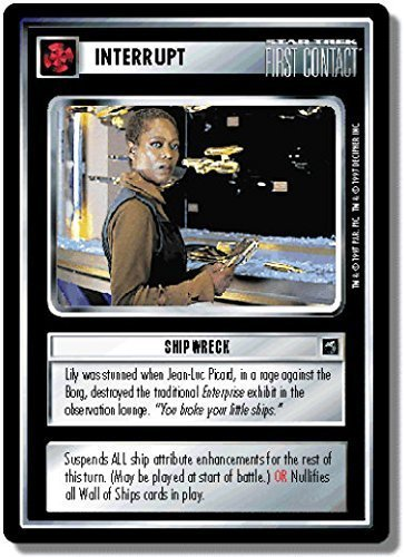 Star Trek CCG FC First Contact Wall of Ships