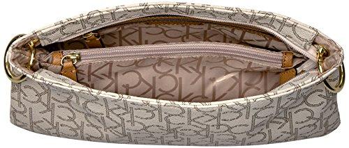 Monogram Novelty Stitch Alm Klein Strap Unlined Crossbody Seafoam Cashew Khk Calvin x7gPZwg