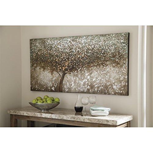 Ashley Furniture Signature Design - O'keria Canvas Wall Art - Contemporary