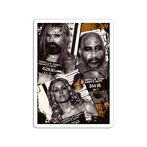 KoutYukshop Sticker Motion Picture The Devils Rejects Captain Spaulding Otis and Baby Mu Action Movies Video Film (3