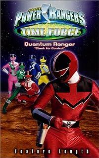 Power Rangers Time Force - Quantum Ranger - Clash for Control [VHS]