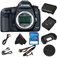 Canon EOS 5D Mark III DSLR Camera (Body) (Body Only) + 16GB I3ePro SD Card