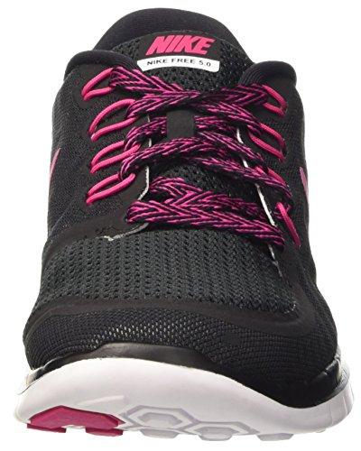 Nike Pink 0 Free Donna Black Multicolore Wmns Scarpe Vivid Sportive 5 white rvqxrw56