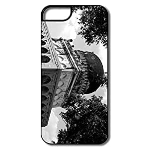 IPhone 5 5S Cases, Historic Architecture White/black Cases For IPhone 5 5S by supermalls