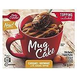 Betty Crocker Mug Cake Caramel Brownie with Caramel Topping, 294 Grams