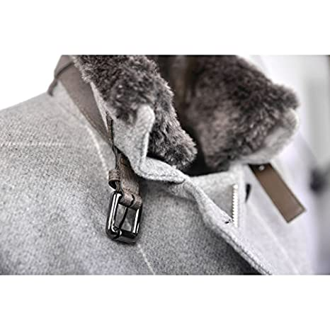 Fuchs Schmitt - Abrigo - para mujer gris 38: Amazon.es: Ropa y accesorios