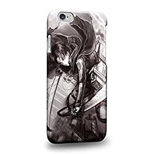 Case88 Premium Designs Attack on Titans Levi Protective Snap-on Hard Back Case Cover for Apple iPhone 6 4.7""