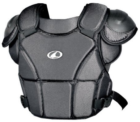 Champro Umpire Chest Protector (Black, Large) by Champro