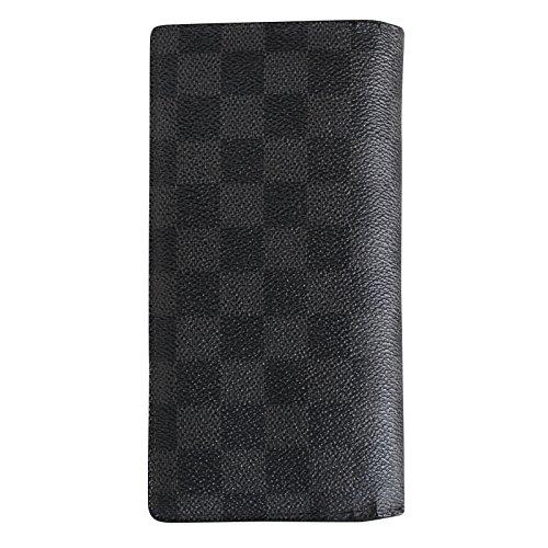 ルイ・ヴィトン ダミエグラフィット ポルトフォイユブラザ長財布 N62665
