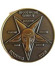 Lucifer Morningstar (TV Show) Bronze-Tone Inspired Pentecostal Replica Token 1:1 Scale
