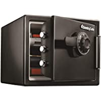 SentrySafe SFW082CTB Safe, Fireproof/Waterproof with Dial Combination - 0.82 Cubic Feet