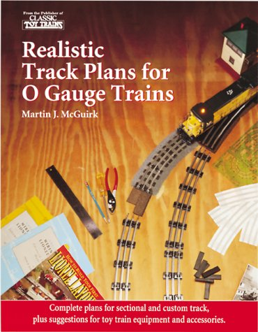 Realistic Track Plans for O Gauge Trains
