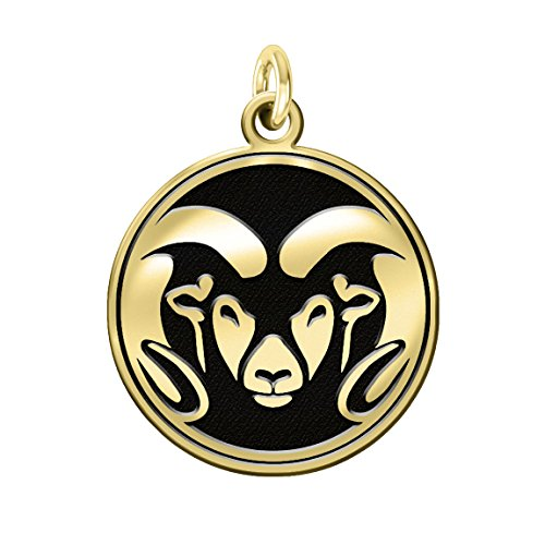 Colorado State Rams 14k Yellow Gold Cut Out Logo College Charm by College Jewelry