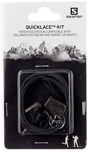 De Cordones Negro Set L32667200 Salomon Kit Unisex Quicklace qSfn6