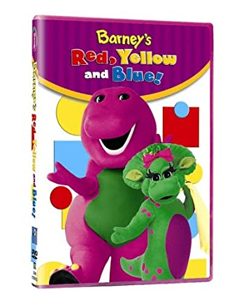 Barney-Red, Yellow, Blue: Amazon ca: DVD: DVD