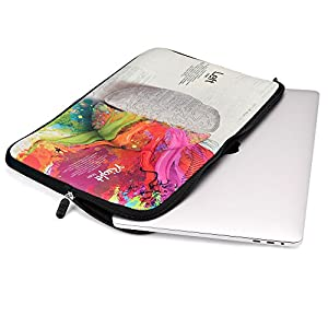 iCasso 13-Inch Stylish Soft Neoprene Sleeve Case Cover Bag For Macbook Air / Pro / Retina 13 Inch/2016 New Retina 13 Inch(Left and Right Brain)