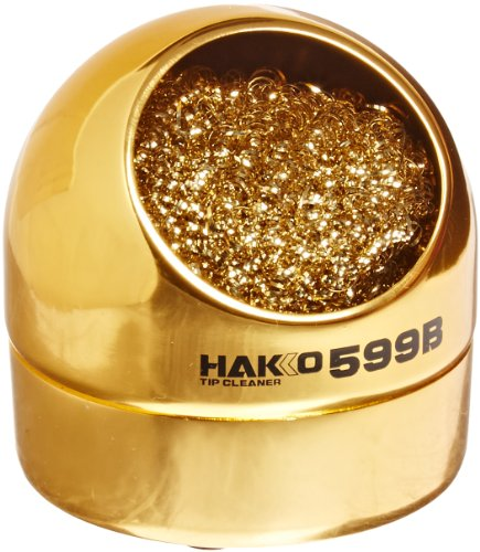 hakko-599b-02-solder-tip-cleaning-wire-and-holder