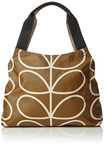 Orla Kiely Womens Classic Zip Messenger Bag