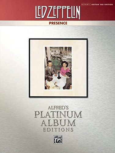 ence Platinum Guitar: Authentic Guitar TAB (Alfred's Platinum Album Editions) ()