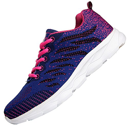 JARLIF Womens Breathable Tennis Running Shoes Athletic Fitness Workout Gym Jogging Walking Shoes US5.5-10