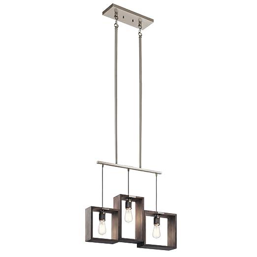 Amazon.com: Chandeliers 3 - Lámpara de techo con acabado de ...