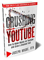 The keys to growing a YouTube channel that took me from zero to 75,000 subscribers in 18 months.       If you're serious about starting a YouTube business and want to make money on YouTube, I can show you the way.       I've doubled my...