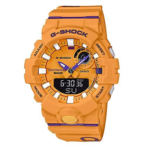 Men's Casio G-Shock Urban Trainer Orange Resin Watch GBA800DG-9A