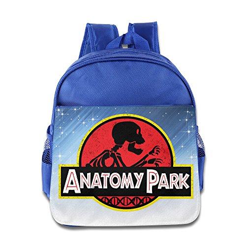 TV Series Anatomy Park Rick And Morty Logo Kids School RoyalBlue Backpack Bag