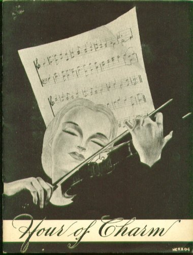 Hour Charms - Hour of Charm All-Girl Orchestra program Bushnell 1948