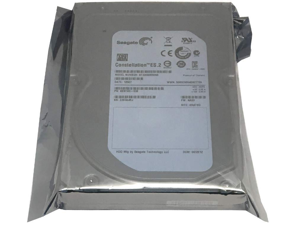 "Seagate Constellation ES2 3TB 7200RPM SATA 6Gb//s 64MB 3.5/"" Enterprise Hard Drive"
