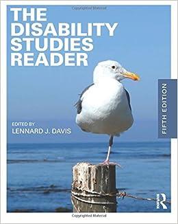 The Disability Studies Reader: Lennard J. Davis ...