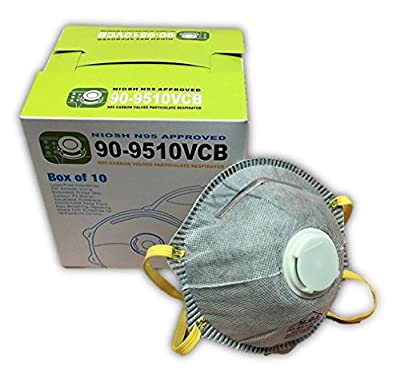 Carbon Filter Masks N95 with Exhalation Valve