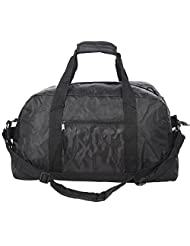 Jetstream Mens Black Foldable Travel Luggage Duffel Gym Bag