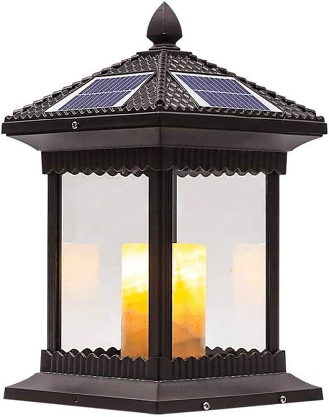 Chino control remoto columna solar faros, Columna china del jardín ...