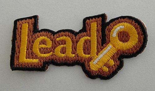 - Lead Key Girl Scout Brownie Patch