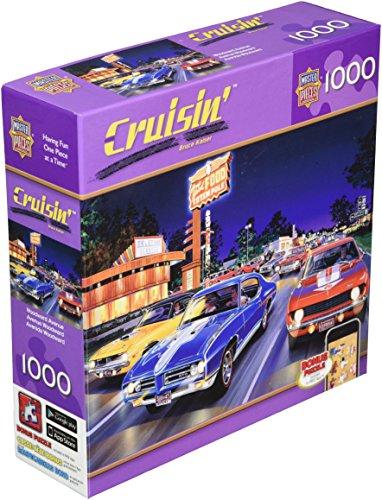 Masterpieces Woodward Avenue Cruisin' Jigsaw Puzzle (1000-Piece)