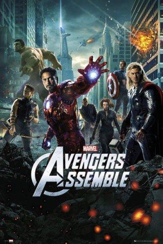 Amazon.com: Los Vengadores – Marvel Película – Póster ...