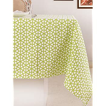 Gentil Table Cloth, 100% Cotton, Rectangular Table Cloth Of Size 52X70 Inch, Eco