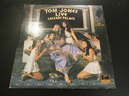 TOM JONES LIVE AT CAESARS PALACE vinyl - Palace Stores Caesar