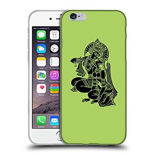 """GoGoMobile Coque de Protection TPU Silicone Case pour // Q08140628 Hindou 5 poule // Apple iPhone 6 PLUS 5.5"""""""