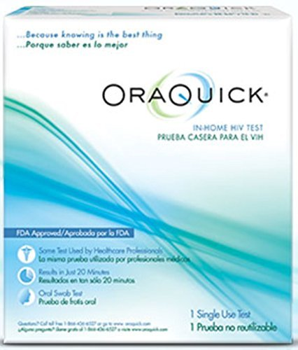 ORAQUICK In-Home HIV Test 1 ea by Oraquick